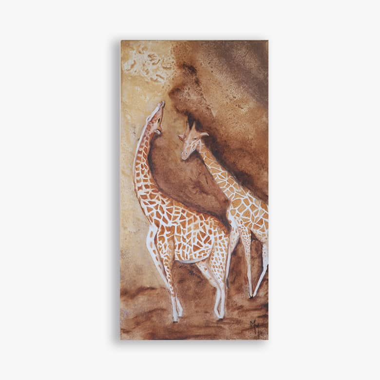 toile les girafes